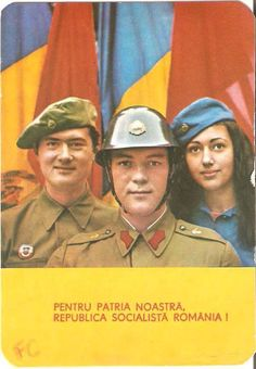 Romanian army poster Romanian Revolution, Russian Revolution, Communism, Socialism, Romanian People, Socialist State, Warsaw Pact, Central And Eastern Europe, The Lost World