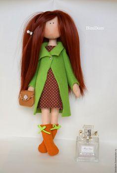 Купить или заказать Интерьерная кукла Рыжая Леди! в интернет-магазине на Ярмарке…