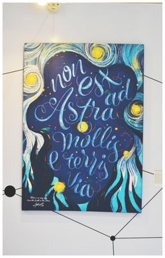 Places in Town: Basha Market  (art illustration starry night van gogh inspiration canvas market quotes french beautiful)