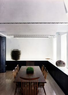 Gallery of inspirational architectural and home design imagery and photos of Dining Rooms in the Remodelista.