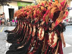 The Amazing Costumes For The Moors & Cristians Parade In Calpe Over the Weekend