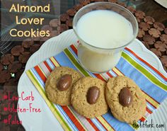 Happy National Almond Day! Munch on my Almond Lover Cookie Recipe | thefitfork.com
