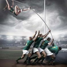 South Africa Rugby Olympics Pole Vault - The Inspiration Room South Africa Rugby, Beach Volley, Web Design, Graphic Design, Advertising Design, Clever Advertising, Advertising Agency, Sport Photography, Tutorials