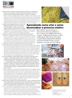 Entrevista com Renata Rubim.  Olhar Gráfica - Claudio Ferlauto