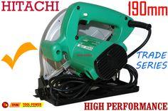 Hitachi circular saw 190mm with free case & extra blade