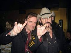 Lemmy and Paul