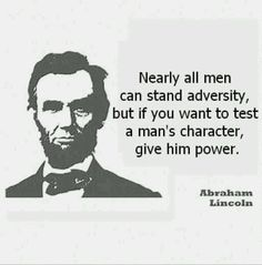 Abraham Lincoln quote ...