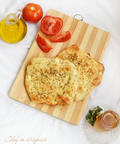 Fteer falahi (Cheese and anise flat bread). Something that reminds me of being a kid in my grandmother's kitchen