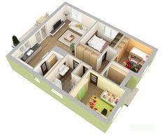 Bungalov 125 | Projekty rodinných domov | Stavby domov