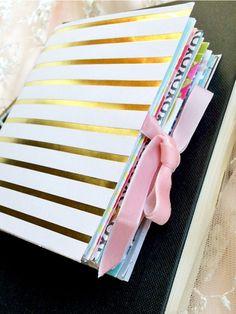 Tutorial   Baby Book Pocket Keepsake Album – Scrap Booking