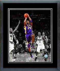 Kobe Bryant Framed With double black matting Ready To Hang- Awesome & Beautiful