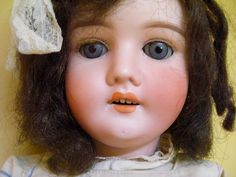 Antique Special Germany Doll by twomarchhares on Etsy, $875.00 Germany, Dolls, Antiques, Trending Outfits, Unique Jewelry, Handmade Gifts, Room, Etsy, Vintage