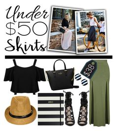 """Skirts Under $50 (2)"" by estefanifashion on Polyvore featuring Topshop, Miss Selfridge and Kate Spade"