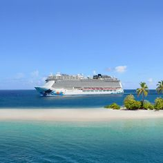 Travel Destinations Beach, Vacation Places, Dream Vacations, Vacation Spots, Beautiful Places To Travel, Cool Places To Visit, Places To Go, Norwegian Cruise Line, Beautiful Nature Pictures