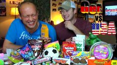 American Candies Germany Vs, Fruit Slice, Candies, Cereal, Usa, American, U.s. States, America, Corn Flakes