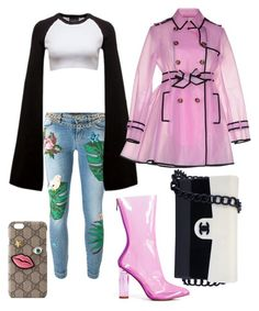 """Save this for a Rainy Day"" by yourfavfashblogger on Polyvore featuring Dolce&Gabbana, Maison Mayle, Puma, RED Valentino, Chanel and Gucci"