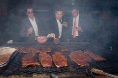 Smoking meat goodness!