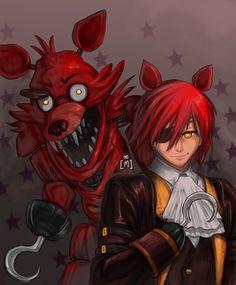 Foxy th' Scurvy Pirate by BelovedMeimei.deviantart.com on @DeviantArt