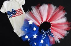 July 4th Tutu. Yupp Blake def needs another tutu outfit for the 4th :)