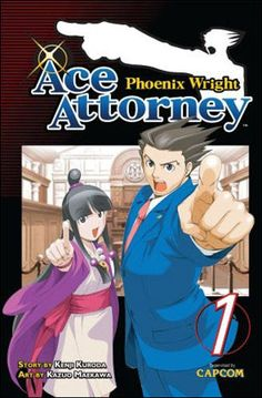 Phoenix Wright, ace attorney (Vol. 1 - Vol. 3)