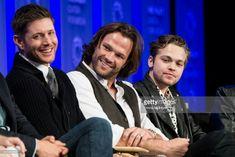 Jensen, Jared, and Alex at PaleyFest 2018