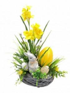 Flower Arrangement Designs, Floral Arrangements, Owl Crafts, Easter Crafts, Easter 2021, Handmade Flowers, Paper Flowers, Easter Eggs, Spring