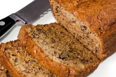 Low glycemic banana nut bread - Low GI banana nut bread recipe