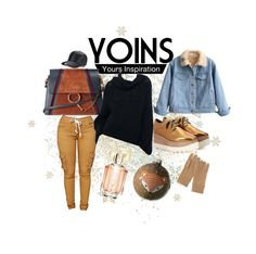 """""""Yoins"""" by patricia237 ❤ liked on Polyvore featuring Chloé, STELLA McCARTNEY, Uniqlo, HUGO, Wildfox, yoins and loveyoins"""