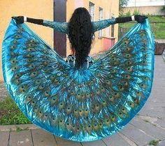 Peacock feathers! @Aubrey Godden Kelly