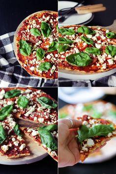 Blumenkohl-Pizzateig :: gluten free // low carb // low fat