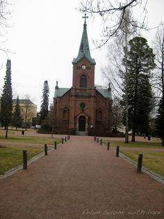 Kirkkopuisto,  Jyväskylä, Suomi