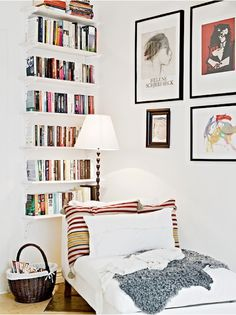 How to Fit a Reading Nook into the Smallest of Spaces   If you live in a smaller home, this may seem like an impossible dream—which is why we've rounded up these 10 ways to add a reading nook to even the smallest of spaces.