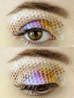 A Colorful Pixelated Eye