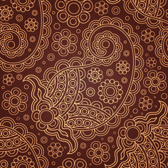 free vector Five gorgeous pattern vector