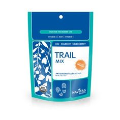 Navitas Naturals Organic Raw Trail Mix, Goji-Mulberry-Golden, 4-Ounce Pouches (Pack of 4) - http://goodvibeorganics.com/navitas-naturals-organic-raw-trail-mix-goji-mulberry-golden-4-ounce-pouches-pack-of-4/