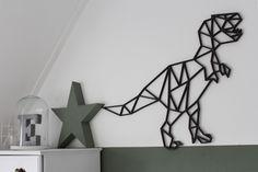 Selfies, String Wall Art, T Rex, Inspiration, Design, Home Decor, Dinosaurs, Art, Homemade Home Decor
