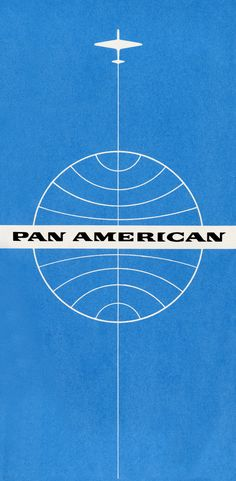 Pan American World Airways Ticket Jacket (1960)