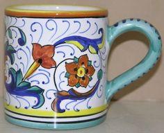 Hand-Painted in Italy Starbucks Coffee Mug