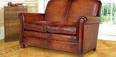 DFS William 2 Seater Leather Sofa  Price £998