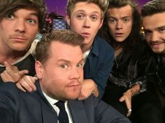 On the Late Late Show with James Corden