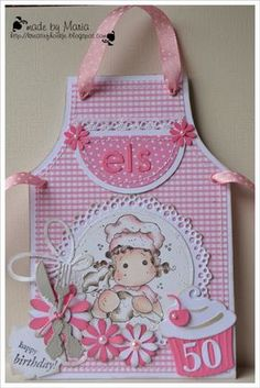 Kreatief met Maria: Pink Scrapbook Cards, Scrapbooking, Girl Birthday Cards, Shaped Cards, Square Card, Easel Cards, Marianne Design, Mothers Day Cards, Card Tags