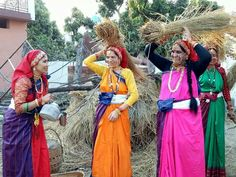 Kumoni  style## Village Photography, Hindu Temple, Monday Blues, Incredible India, Pilgrimage, Best Part Of Me, Indian Dresses, Traditional Dresses, Vietnam