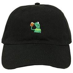 Kermit The Frog Strapback Cap