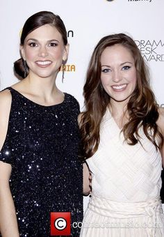 Laura Osnes and Sutton Foster