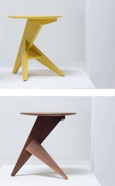 Round wooden for living room MEDICI by Mattiazzi Art Furniture, Plywood Furniture, Furniture Projects, Wood Projects, Furniture Design, Furniture Outlet, Discount Furniture, Chair Design Wooden, Wood Design