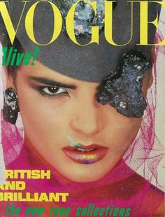 Vogue - Talisa Soto - August, 1984