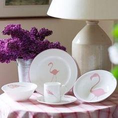 Flamingo Dinnerware