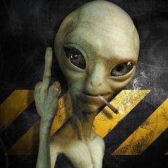 DeviantArt is the world's largest online social community for artists and art enthusiasts, allowing people to connect through the creation and sharing of art. Alien Tattoo, Les Aliens, Aliens And Ufos, Ancient Aliens, Paul The Alien, Cannabis Wallpaper, Alien Aesthetic, Marijuana Art, Stoner Art