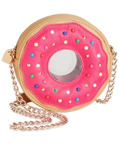 Betsey Johnson Doughnut Crossbody - Betsey Johnson - Handbags & Accessories - Macy's