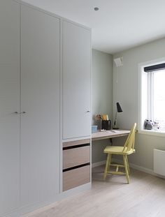 Home Decor Scandinavian .Home Decor Scandinavian Bedroom Cupboard Designs, Wardrobe Design Bedroom, Bedroom Cupboards, Easy Home Decor, Cheap Home Decor, Bedroom Colors, Bedroom Decor, Decor Room, Built In Desk